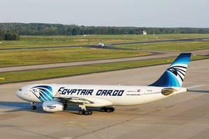 EgyptAir Cargo Airbus A330, SU-GCE am Flughafen Köln/Bonn (CGN)