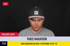 Eilmeldung: Paris Marathon auf den 18. Oktober 2020 verschoben