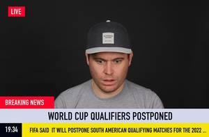Eilmeldung: WM-Quali-Spiele in Südamerika verschoben