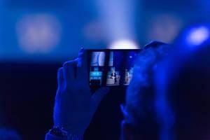 Ein Schnappschuss mit dem Smartphone