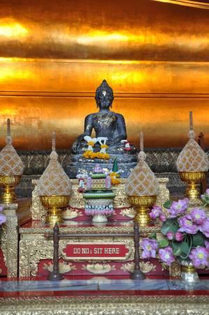 Einer von unzählig vielen Buddha-Tempeln in Thailand
