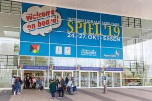 Eingang der Internationalen Spieltage Spiel19 in Essen