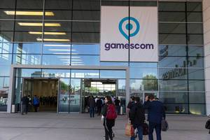 Eingang - Gamescom 2017 Messe, Köln
