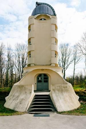Einstein Tower at Leibniz Institute for Astrophysics Potsdam (Flip 2019)