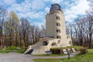 Einstein Tower sun observatory at Potsdam University (Flip 2019)