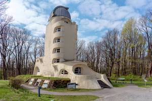 Einstein Tower sun observatory at Potsdam University