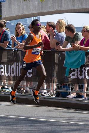 Elite runner Amanuel MESEL - London Marathon 2018