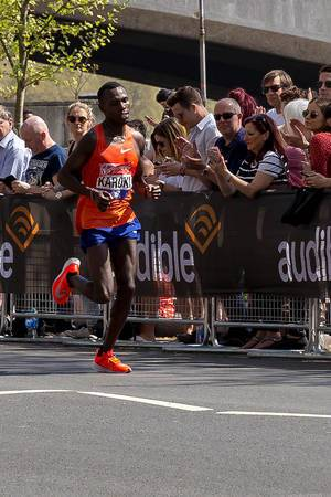 Elite runner Bedan KAROKI - London Marathon 2018