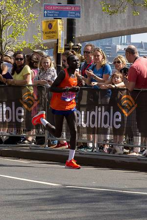 Elite runner Lawrence CHERONO - London Marathon 2018