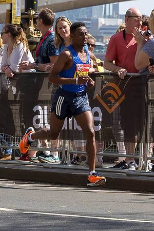 Elite runner - London Marathon 2018