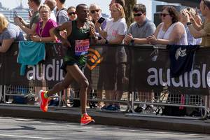 Elite runner Tola Shura KITATA - London Marathon 2018