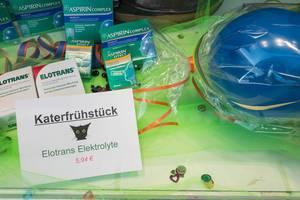 Elotrans Elektrolyte gegen den Kater nach Karneval, Aspirin Complex und Aspirin Effect