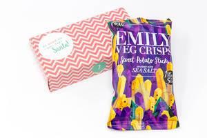 Emily - Süßkartoffelstäbchen mit Meersalz aus dem siebten Türchen des veganen Foodist Active Adventskalender