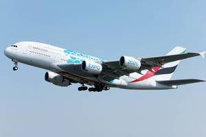 Emirates Airlines EXPO 2020 livery, Airbus A380