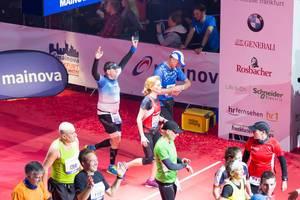 Endlich im Ziel - Frankfurt Marathon 2017
