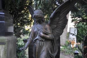 Engel am Friedhof Melaten, Köln