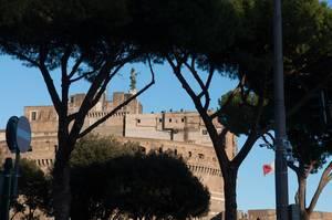 Engelsburg in Rom, Italien