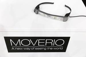 Epson Moverio Augmented Reality Brille