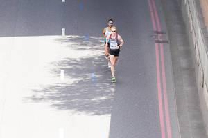 Eric Gillis (Marathon Finale) bei den IAAF Leichtathletik-Weltmeisterschaften 2017 in London