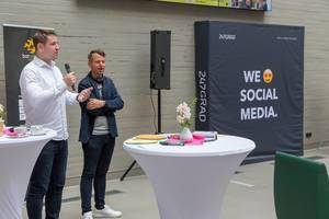 Eröffnung des Barcamps in Koblenz