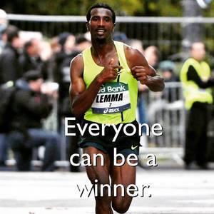 Everyone can be a winner. #ASICSFrontrunner #marathon #frankfurtmarathon #motivation #runner #fitness #happy