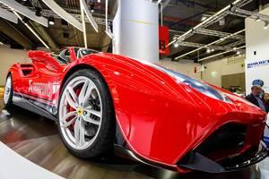 Exhaust System Technology von Akrapović für Rennwagens
