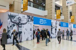 Expo and participant packet pick-up for the Chicago Marathon 2019 at McCormick Place, North Building