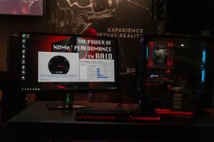 Extrem schneller NVMe RAID Aufbau - Gamescom 2018
