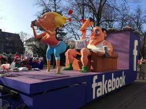 Fakebook (Facebook) Wagen