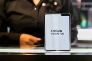 Faltbarer Handy-Bildschirm: Vorstellung des Samsung Galaxy Fold mit 5G