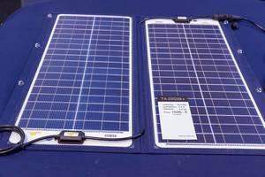 Faltbares, seewasserfestes Solarmodul mit Stoffeinfassung für Benutzung auf Booten