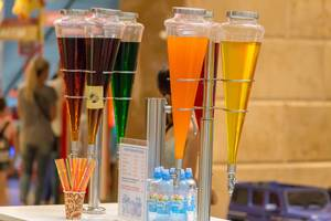 Famous Lagidze Waters soft drinks in Moscow