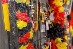 Fan-Artikel in Farben Schwarz-Rot-Gold - IAW Köln 2018
