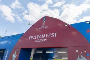 Fan fest Moscow - Russia 2018