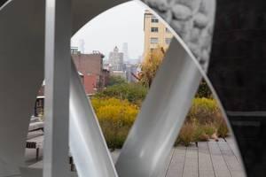 Fan on High Line, New York