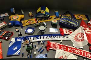 Fanartikel: Eintracht Braunschweig, TSG Hoffeneheim, Fortuna Düsseldorf