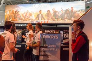 Farcry 5 single player gaming experience - Gamescom 2017, Cologne