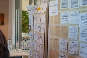 Fast voller Session-Plan beim Barcamp Köln 2018
