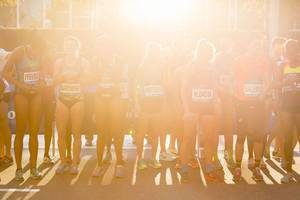 Female Elite at Dash to the Finish Line 5K 2016