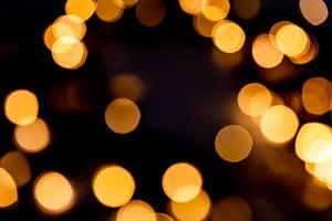 Festive background with blurred garland glow (Flip 2019)