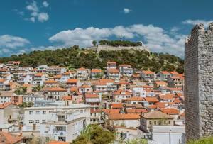 Festung in Šibenik, Kroatien