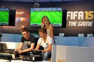 Fifa 15 Showmatch @ Gamescom