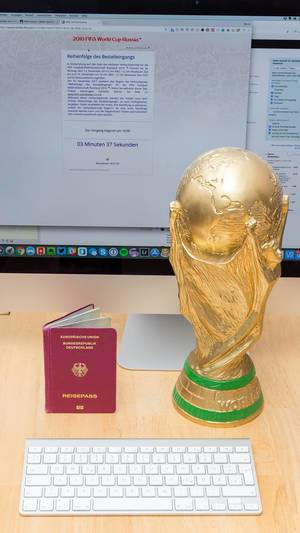FIFA WM 2018: Warteschlange für Online-Tickets