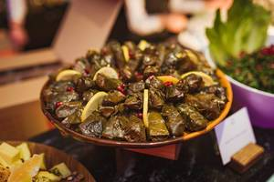 Filled Meat Rolls with Beetroot Leaf (Flip 2019)