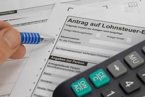 Filling out German tax form