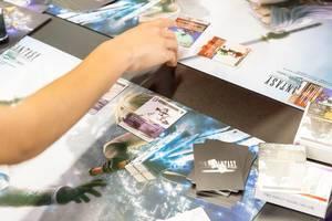 Final Fantasy Sammelkartenspiel - Gamescom 2017, Köln