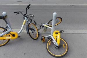 Firma Obike geht Pleite, hinterlässt Tausende Leihräder in Wien