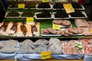 Fisch, Algen und Gewürze