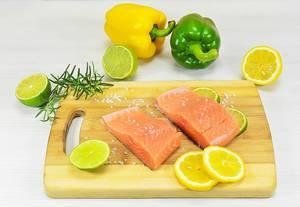 Fischzubereitung mit Zitrusfrüchten