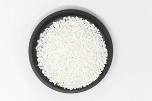 Flatlay der Reisart Konjakreis Roooaaar Rice von Shileo, als vegane Beilage für eine gesunde, sportliche Ernährung